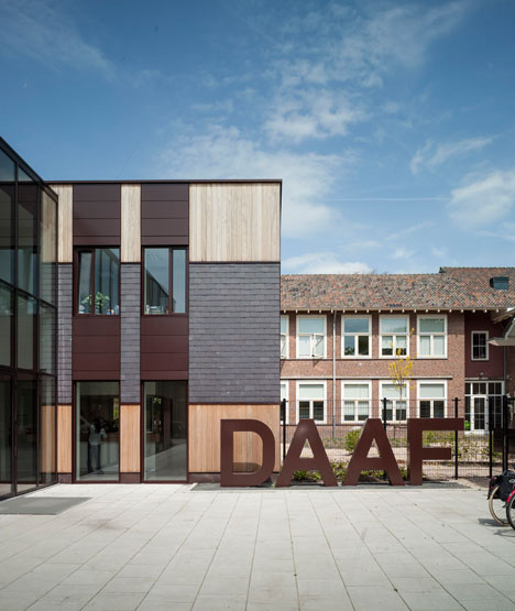 Secondary school Haarlem by KoningEllis Architecten