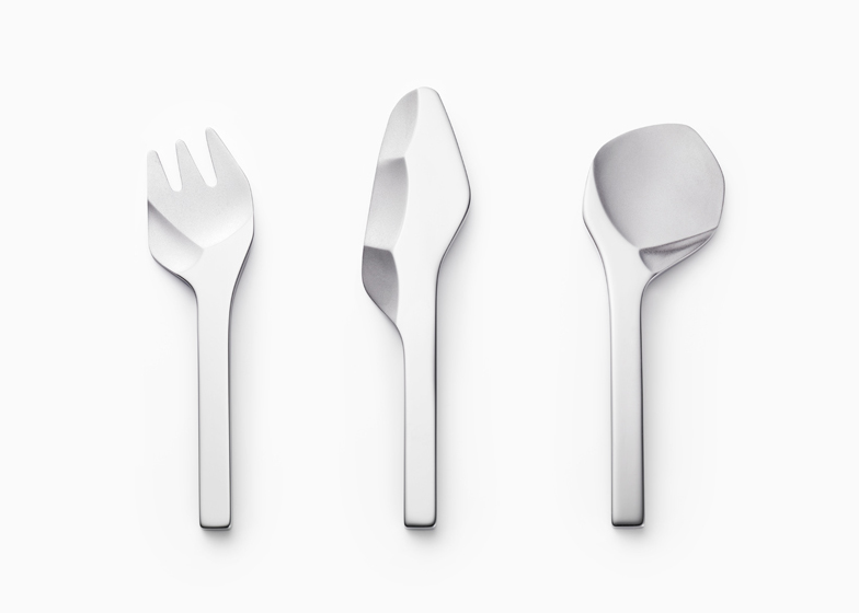 Sekki cutlery by Nendo  sc 1 st  Dezeen & Sekki cutlery that looks like prehistoric stone tools by Nendo