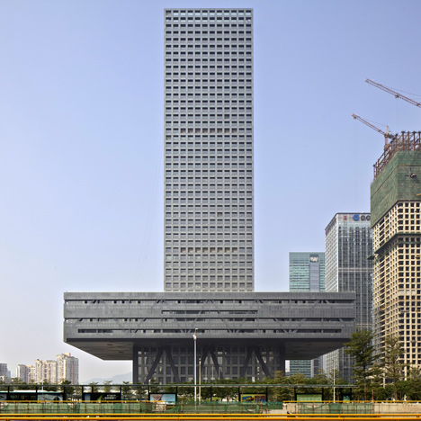 Shenzhen Stock Exchange by OMA