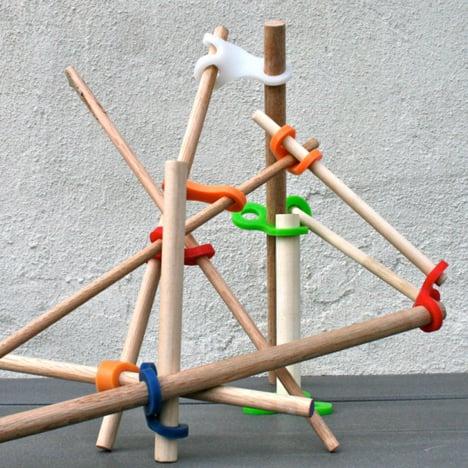 Stick- lets by Christina Kazakia