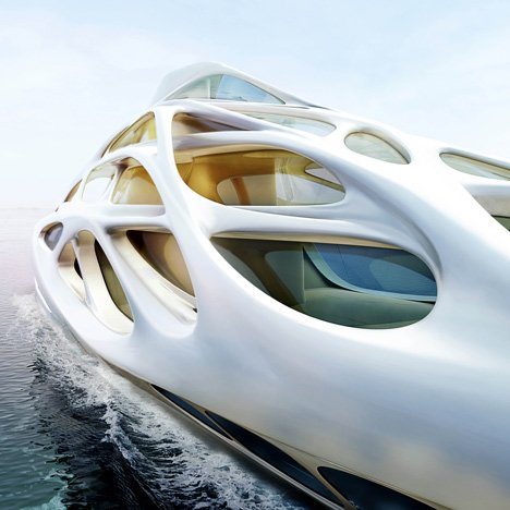 Superyachts by Zaha Hadid<br /> for Blohm+Voss