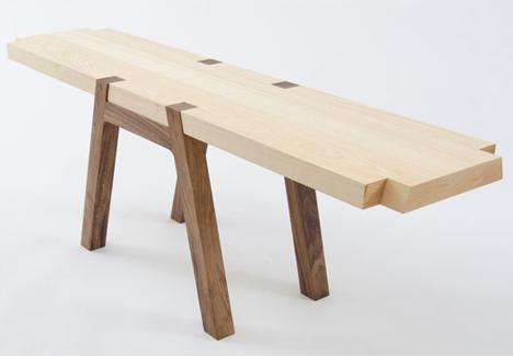 TWIN bench by Andrea Rekalidis