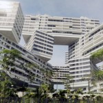 The Interlace by OMA and Ole Scheeren nears completion
