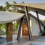 The Leaf House by SJK Architects