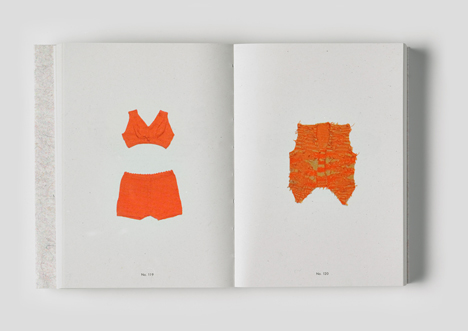The knitting collection of Loes Veenstra by Christien Meindertsma
