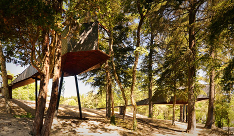 Tree Snake Houses by Luís and Tiago Rebelo de Andrade