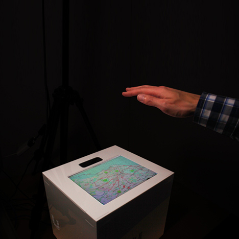UltraHaptics touchscreens with tactile feedback by Bristol University researchers