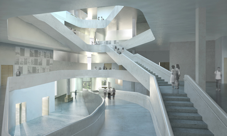 Visual Arts Building animation by<br /> Iowa University School of Art & Art History