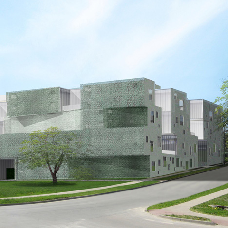 Visual Arts Building animation by Iowa University School of Art & Art History