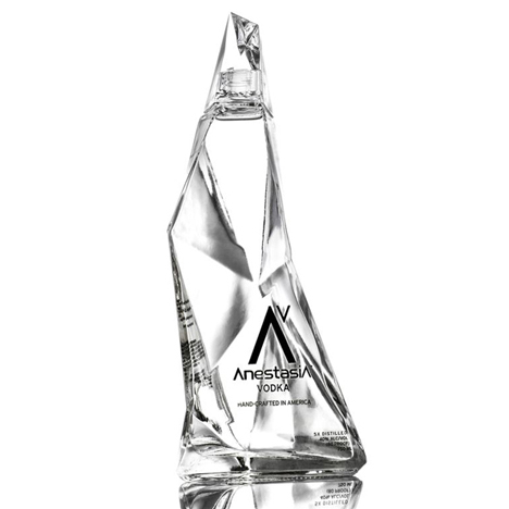 Vodka bottle by Karim Rashid for Anestasia