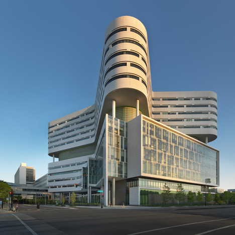 Rush University Medical Centre New Hospital Tower, USA, by Perkins+Will