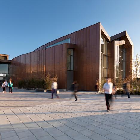 Splashpoint Leisure Centre, UK, by Wilkinson Eyre Architects