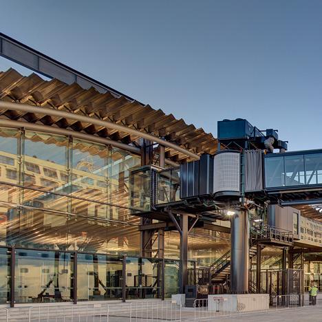 Sydney Cruise Terminal, Australia, by Johnson Pilton Walker Architects
