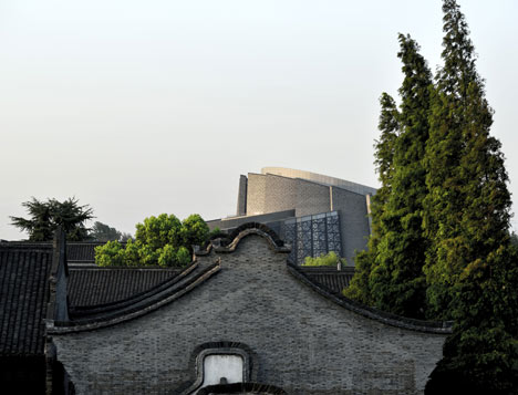 Wuzhen Theatre by Artech Architects