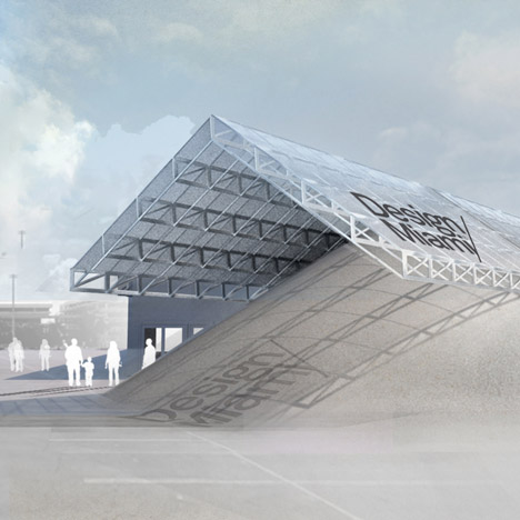 Design Miami pavilion to feature a pile of sand