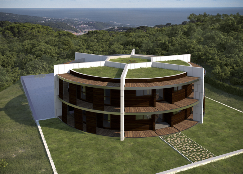 Lives for football, lives IN a football: Lionel Messi is having an original football shaped house built in Barcelona