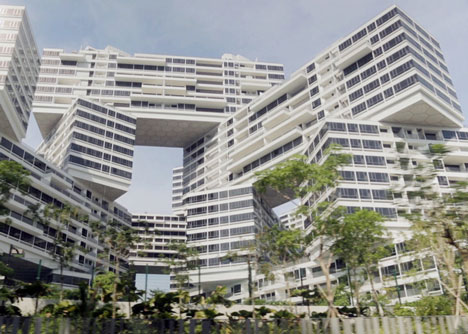 The Interlace, Singapore, designed by former OMA partner Ole Scheeren