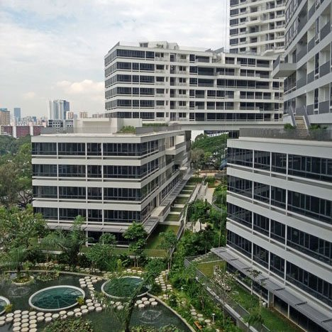 """Singapore has balanced the need for density with providing public space"""