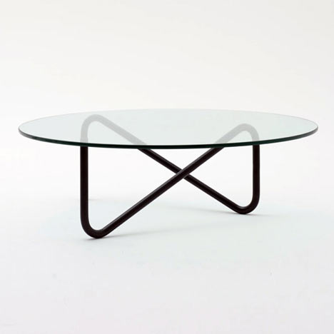 Tricom table by Shigeichiro Takeuchi for COMMOC