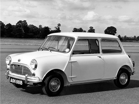 Alec Issigonis' 1959 MINI Mark 1