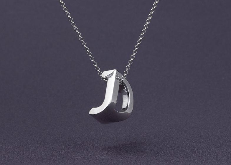 3D printed monogram by Mymo