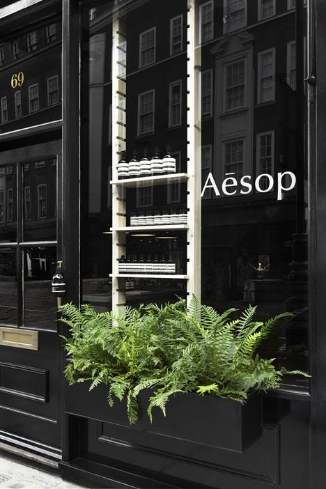 Aesop Marylebone shop interior by Studio KO