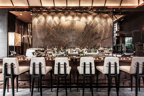 Ammo bar and restaurant in Hong Kong by Joyce Wang