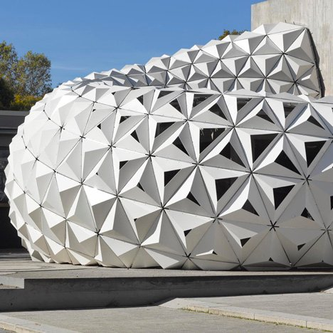 ArboSkin pavilion made from<br /> bioplastic by ITKE
