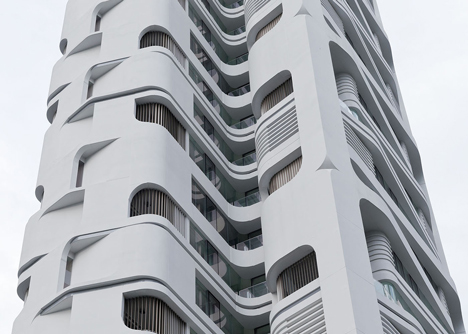 Ardmore Residence skyscraper in Singapore by UNStudio