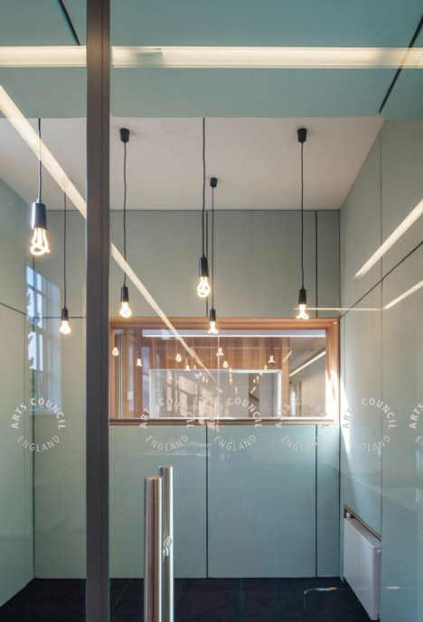Arts Council England West Midlands Office by Moxon Architects