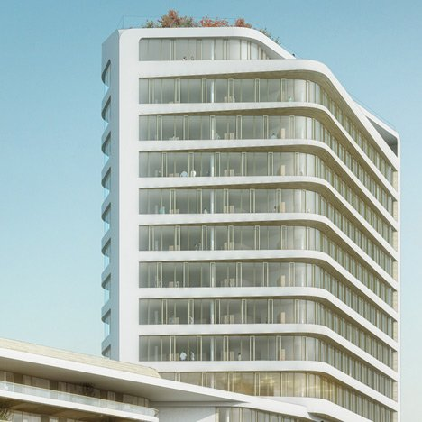 UNStudio wins competition to design 60-metre tower for Munich
