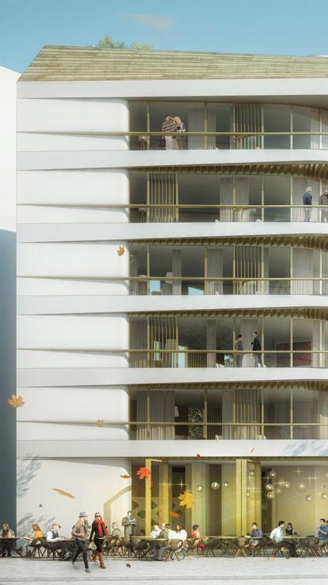 UNStudio wins competition for Baumkirchen Mitte complex in Munich
