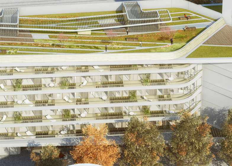 UNStudio wins competition for Baumkirchen Mitte complex in Munich