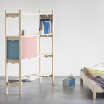 Bookbinder Shelf and bedroom furniture by Florian Hauswirth