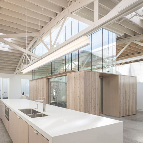 Bowstring Truss House by Works Partnership Architecture