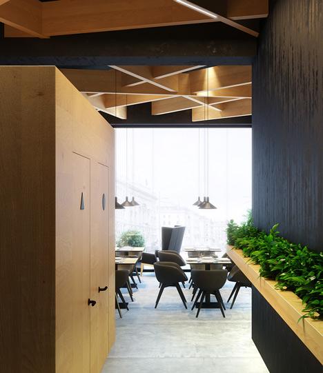 Bristol 2 cafe by Umbra Design