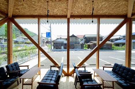 Cafeteria in Ushimado by Niji Architects_dezeen_12