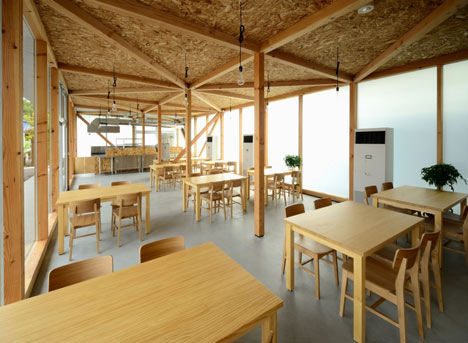 Cafeteria in Ushimado by Niji Architects_dezeen_16