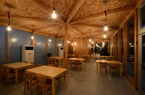 Cafeteria in Ushimado by Niji Architects_dezeen_20