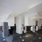 Volcanic Slab D2C flagship store by 3Gatti Architecture Studio