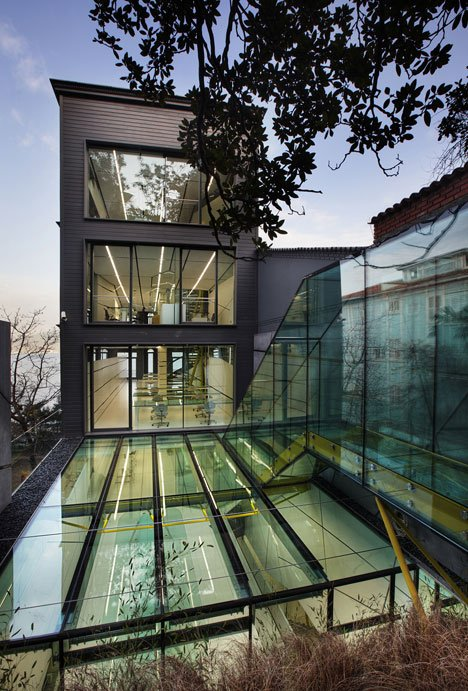 Dardanel Administration Building in Istanbul, Turkey, by Alatas Architecture & Consulting