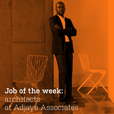 Job of the week: architects at Adjaye Associates