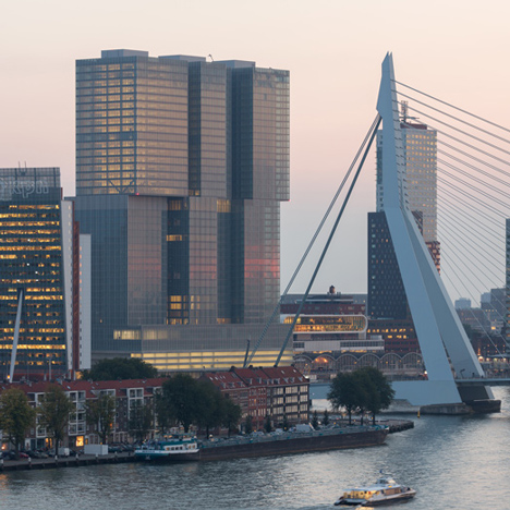 De Rotterdam, Netherlands, by OMA
