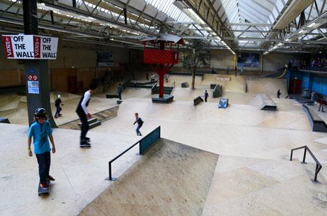 Area 51 skatepark, Eindhoven
