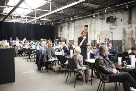 Eat Drink Design at Kazerne during Dutch Design Week in Eindhoven