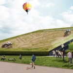 Robot tractors to farm crops on sloping roof of Milan expo pavilion
