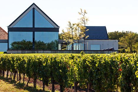 Esterházy Etyeki Kúria Winery by BORD Architecture Studio