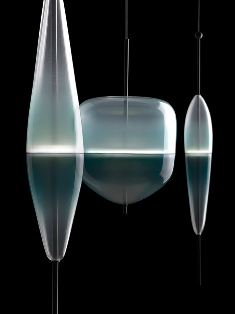 Flowt glassware by Nao Tamura at Luminaire Lab