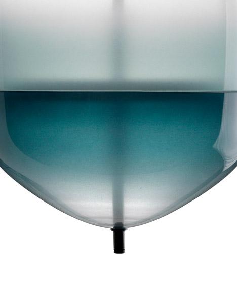 Flowt glassware by Nao Tamura at Luminaire Lab
