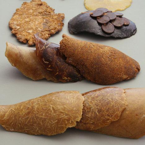 Formafantasma Botanica shellac samples